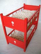 サムネイル:F二段ベッド 赤