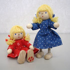 サムネイル:自在人形 女の子
