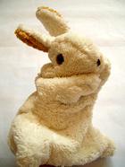サムネイル:コットン手人形うさぎ