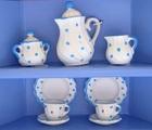 サムネイル:コーヒーサービス2人 ブルー