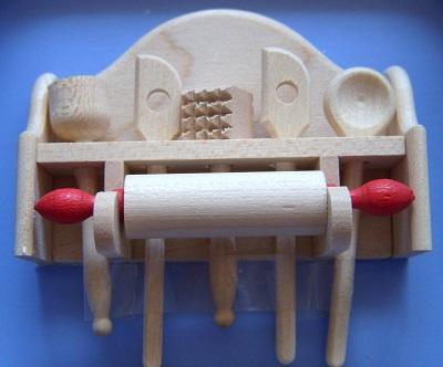 写真:木製キッチンセット