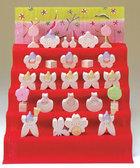 サムネイル:小黒三郎 花ごろも五段飾り・小(特製・桜)