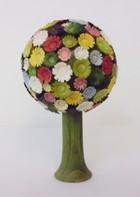 サムネイル:丸い花の木 カラフル