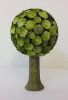 サムネイル:丸い花の木 緑