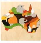 サムネイル:地図パズル オーストラリア