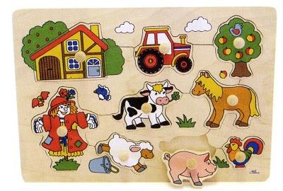 写真:ペグパズル 農場