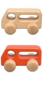 サムネイル:バス(大) 赤・白木