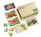 サムネイル:木箱入りパズル のりもの10枚セット