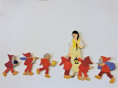 写真:壁掛 白雪姫6点セット