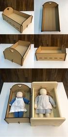 サムネイル:組立ドールベッド