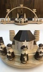サムネイル:シュビップボーゲン 聖歌隊と小さな村(キャンドル)